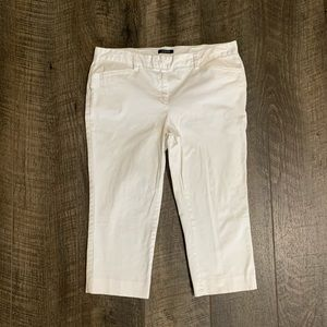 Petite Lands End Cropped Chino